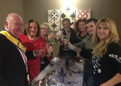 Rotary Club Malaga Alcazaba Cena Navidad