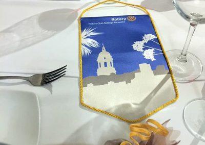 Rotary Club Malaga Alcazaba Bandera